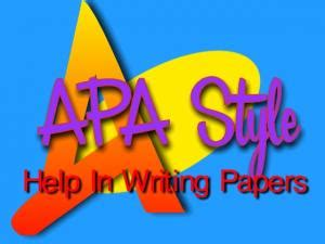 Table of contents in research paper ape citation